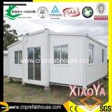 軽い鉄骨構造の容器の家