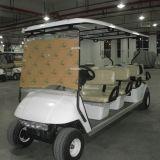 Personen-hinterer Sitzelektrischer Golf-Buggy China-Marshell 8 (GD-C6+2)