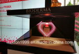 Exposição holográfica 3D Pirâmide Showcase para Watch Hologram Advertising Player