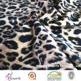 Ткань печати леопарда для платья