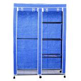 Économie de l'espace pliant le Module simple non-tissé Jp-125fabw de cabinet de garde-robe de chambre à coucher de porte