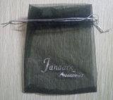 オーガンザ袋のドローストリングのギフト袋(TP-OB051)