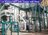 50t Maize Roller Mill Sambia