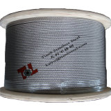 AISI 304 7X19 2mmのステンレス鋼ワイヤーロープ