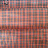 Tela teñida hilado tejida del popelín de algodón para las camisas/alineada Rls50-21po de la ropa