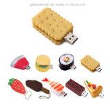 Aandrijving van de Flits van het open-Ontwerp USB van het Voedsel van het beeldverhaal de Kleurrijke