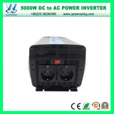 Convertisseur 5000W micro outre de l'inverseur portatif de réseau (QW-M5000)