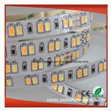 極度の明るさSMD5630 600LEDsは可変性LEDストリップカラーCCT二倍になる