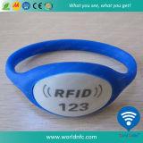 Wristbands impermeabili del silicone NFC Ntag213 RFID
