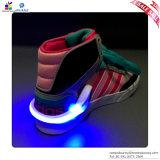 Agrafe de chaussure de course de lueur d'instantané de LED