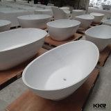 Vasca da bagno di superficie solida acrilica all'ingrosso della stanza da bagno della Cina