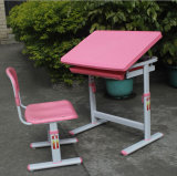 安いKids Plastic Table School Student Table Study TableおよびChair