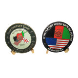 Monete afgane calde del ricordo dell'esercito