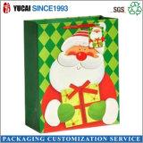 2017 Venta al por mayor caliente bolsa de papel de Navidad Bolsa de regalo