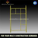 Échafaudage normal américain de bâti d'étayage d'échelle de matériaux de construction