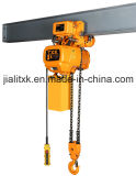 2ton 2/1 Electric Chain Hoist with Hook Suspension