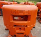 Bastidor del hierro del OEM, bastidor de arena, contrapeso para la maquinaria de la manipulación de materiales
