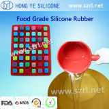 FDA Liquid Silicone Rubber per Chocolate Molds Making con MSDS