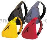 선전용 삼각형 부대, 단 하나 어깨 책가방