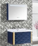 PVC novo Bathroom Vanity de Wall Mounted com Mirror Cabinet