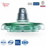 IEC endurecido 105kn do isolador de vidro do disco da suspensão U210