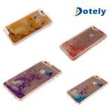 Twinkle Stars Quicksand-flüssigen Kasten-Deckel für Mobiltelefon