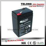 batería de plomo recargable 6V4ah con el certificado de la UL del Ce