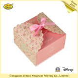 Empaquetage de papier plat de luxe de boîte-cadeau