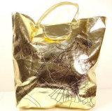 Многоразовая Recyclable прокатанная Non сплетенная хозяйственная сумка (LJ-110)