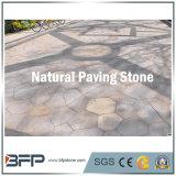 Al aire libre flameada/Bush martillada piedra de pavimentación de la azulada/del granito para el jardín