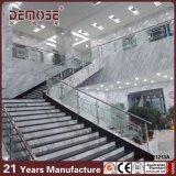 Escalera de la oficina doméstica Grabado de vidrio Baranda (DMS-B21213)