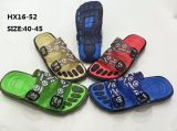 Signora e PVC variopinto Slipper Sandal Shoes (HX16-52) di Casual Summer Beach Slipper del Men