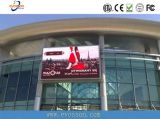 P8 Publicidad Exterior LED de alto brillo de la pantalla de visualización