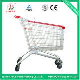 最上質のスーパーマーケットの使用手の買物車(JT-E12)