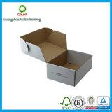 Коробка Cuistomized горячего сбывания рифлёная курьерская, коробка коробки для курьерского