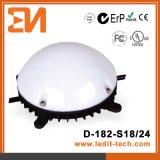 Iluminación CE/UL/FCC/RoHS (D-182) de la fachada LED de los medios
