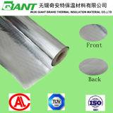 Double garniture latérale de Papier d'emballage de canevas de papier d'aluminium