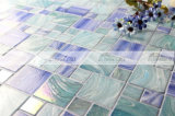 Azulejo de mosaico de cristal del derretimiento caliente cuadrado de la mezcla para la piscina (BGZ001)