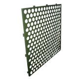 Feuille en aluminium perforée de revêtement de mur pour la décoration de façade