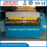 Type machines de tonte de la haute précision QH11D-2.5x1300 de massicot de plaque d'acier du carbone