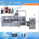 Cadena de producción de relleno de la cola automática/máquina de rellenar de la bebida de la botella