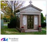 Надгробная плита конструкции Polished естественного каменного гранита по-разному, Gravestone
