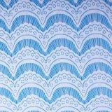 Cordón africano de pestañas tela de encaje (5024)