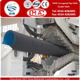 Durchmesser 50-1800mm HDPE gewölbtes Rohr mit doppelten Wänden