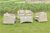 Sofa en osier de rotin de jardin extérieur