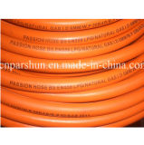 Tuyau flexible en caoutchouc résistant de gaz de pétrole de tresse de fibre