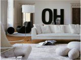 집 사용 (SF027)를 위한 현대 형식 4 시트 직물 소파
