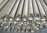 Écran de fil de la cale AISI304/316/écran de fente/filtre pour puits continus de l'eau enveloppés par fil