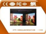 Panneau d'intérieur de publicité polychrome de l'Afficheur LED P4