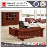 고전적인 사무용 가구 단단한 나무 베니어 행정실 테이블 (NS-SL023)